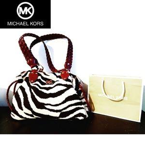🦓 RARE - Authentic MK Zebra Purse 🦓